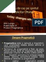 Studiu de Caz Pe Spotul Publicitar Orange