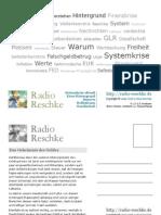 Radio Reschke - Postkarte