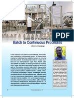 GEROGIORGIS - Benefits of Converting Batch to Continuous Processes