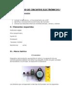 Laboratorio 3 de Circuitos Electrónicos i