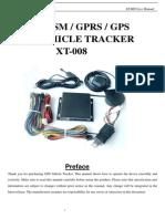 Tracker Sensor Combustible