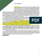 M. Faulcault - El Sujeto y El Poder (Resum)