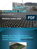 Bubble Deck Concrete Slab