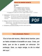 Mecanismos de Cohesión Textual