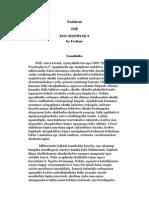 Endabeni the PSYCHOPHYSICS-IsiZulu-Gustav Theodor Fechner