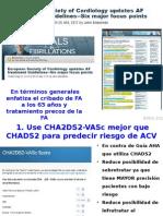 Guía ESC 2012 Fibrilación Auricular Novedades