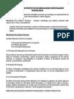 Resumen Formulacion Proyectos de Innovacion Tecnologica