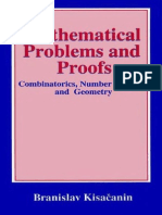 Branislav Kisacanin - Mathematical Problems and Proofs - Combinatorics, Number Theory and Geometry