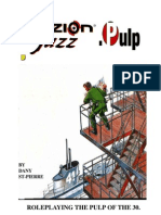 Fuzion Jazz Pulp 30s RPG Dany St Pierre