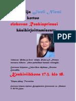 Kirjailija Juuli Niemi