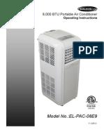 EL-PAC-08E9 Manual 09202013