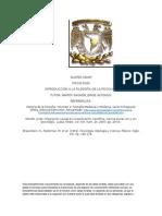 Resumen y Exposicion de Filosofia de La Psicologia