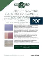 Coches - Instrucciones Para Tintar Cuero Profesionalmente