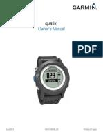Garmin Quatix Owner Manual - English