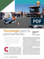 tecnologia para la pavimentacion