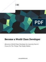 Become a World Class Developer