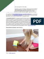 Cuatro Manualidades Infantiles Para Aprender El Abecedario