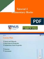 T2 - Sedimentary Rocks - Slides