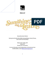 Sunshine123 on Leith Press Kit