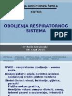 Oboljenja respiratornog sistema