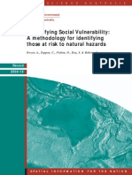 Livro - Quantifying Social Vulnerability. a Methodology for Identifying Those at Risk to Natural Hazards