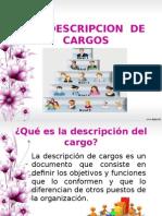3.2 Descripcion de Cargos