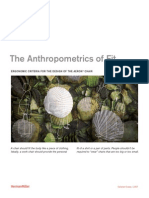 Se the Anthropometrics of Fit