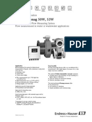 TI 50W 53W pdf | Switch | Flow Measurement