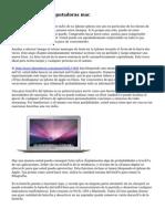 Reparacion de computadoras mac