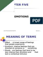 organisational behaviour Lesson 5