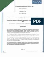 Resolucion 102 Emitida- Se Fija Plazo Para Solicitar Avales Elecciones 2015