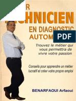 E-book Devenir Technicien en Diagnostic Et Maintenance Automobile