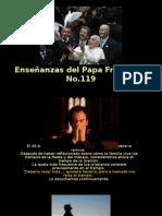 Enseñanzas Del Papa Francisco - Nº 119
