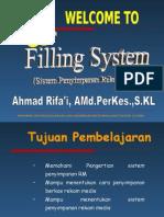Sistem Penyimpanan by Ahmad Rifai