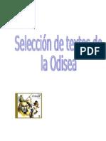 Selección de textos de la Odisea