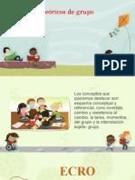 Conceptos teóricos de los grupos en la escuela