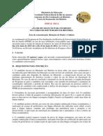 Edital Doutorado 2015 UFRRJ