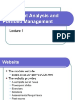 Analysis chandra security portfolio management pdf prasanna