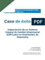 Implantacion ERP en Empresa
