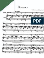 Rachmaninoff - Romance Op. 6 n. 1