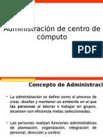 Administración Centro de Computo