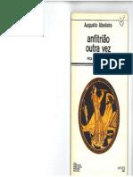 Anfitrião Outra Vez de Augusto Abelaira