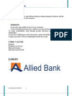 Report on Allied_Bank