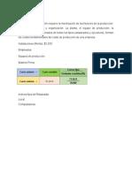 Costos de Producció Santa Inés