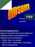 Gypsum 2010