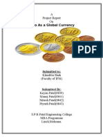 A Project Report on Euro as A