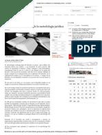 Debate Sobre La Utilidad de La Metodología Jurídica - La Razón