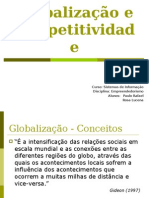 Globalização e Competitividade