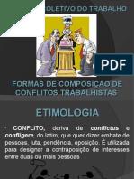 Conflitos Trabalhistas - SLIDES.