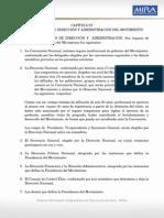 Conformacion de Organos Directivos